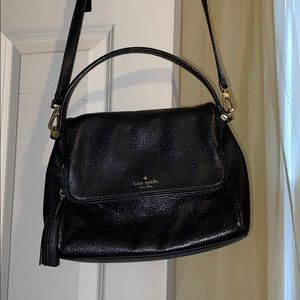Black Kate Spade Soft Crossbody Purse